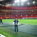 Reporting from London for the Chargers-Saints game