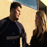 Interviewing Luis Castillo of the San Diego Chargers