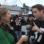 Reporting from Pittsburgh at the Chargers-Steelers game