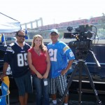 Reporting at a Chargers game